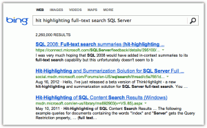 Bing results (click to enlarge)